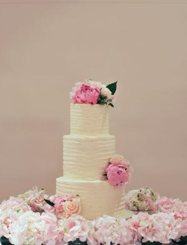 Caroline and Nathan - Wedding Cake
