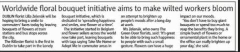 The Green Door Florist - News Clip